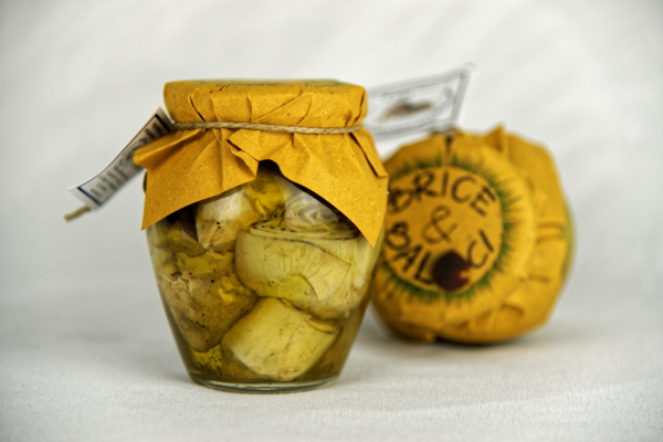 Carciofi in olio extravergine d'oliva2