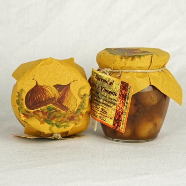 Marroni al miele e vinsanto
